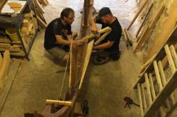 Stavba vikinské lodi