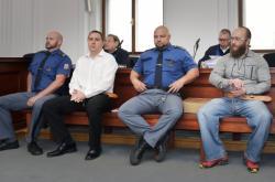 Obžalovaní Martin Novotný a Aleš Šepták - archivní fotografie z roku 2019