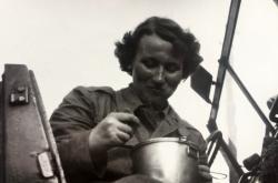 Dagmar Ferebauerová na vojně