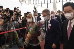 Předseda Senátu vystrčil s tchajwanským ministrem zahraničí
