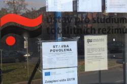 Budova Ústavu pro studium totalitních režimů na pražském Žižkově