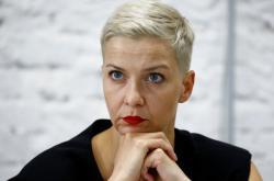 Představitelka běloruské opozice Maryja Kalesnikavová