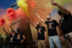 Katalánci si připomínají svátek La Diada