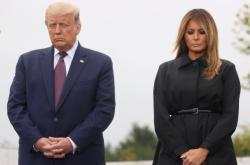 Americký prezident Donald Trump s manželkou Melanií