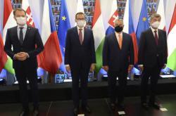 Premiéři V4 na summitu v Polsku