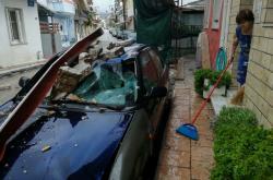 Následky bouře Janos na ostrově Zakynthos