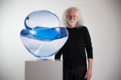 V současnosti největší česká skleněná plastika z ateliéru Vlastimila Beránka