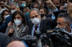 Sesazený katalánský premiér Quim Torra