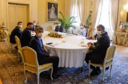 Schůzka nejvyšších ústavních činitelů v Lánech