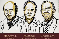 Harvey J. Alter, Michael Houghton a Charles M. Rice