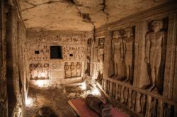 Nově objevená pohřební komora