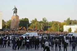 Protivládní protesty v Kyrgyzstánu