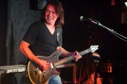 Eddie Van Halen na snímku z roku 2012