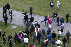 Policie zasahuje proti opoziční demonstraci v Minsku