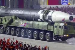 Severní Korea uspořádala na Kim Ir-senovo náměstí oslavy