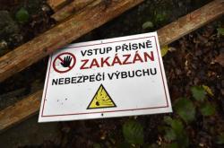 Likvidace oplocení okolí muničních skladů ve Vrběticích