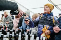 Košt svatomartinského vína v Brně v loňském roce