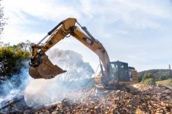 Demolice objektů kvůli stavbě přehrady Nové Heřminovy