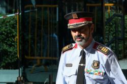 Trapero ještě jako šéf katalánské policie