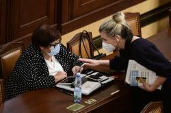 Marie Benešová a Kateřina Valachová