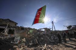 Následky po bojích v Náhorním Karabachu