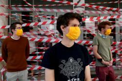 Protest maďarských studentů
