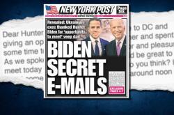 Článek deníku New York Post, který znemožnil sdílet Facebook i Twitter