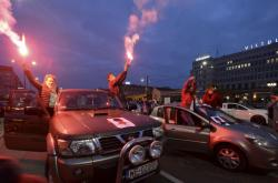 Protesty proti zákazu potratů v Polsku