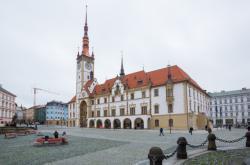 Zrekonstruovaná radnice v Olomouci