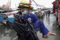 Tajfun Goni zasáhl Filipíny