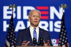 Biden hovoří k národu v Delaware