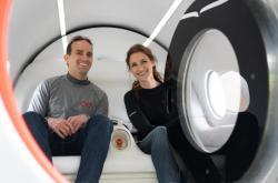 První jízda Hyperloopu s pasažéry