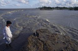 Bangladéš, následky cyklonu