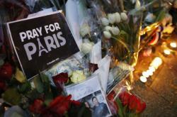 Pieta po útocích v Paříži