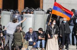 V Jerevanu propukly demonstrace