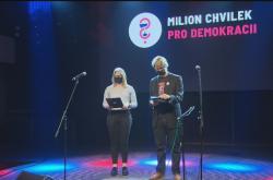 Online demonstrace Milion chvilek pro demokracii