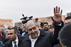 Arménský prezident Armen Sarkisjan