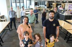 Australská rodina zkoumaná vědci