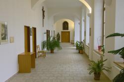 Interiér kláštera ve Vranově
