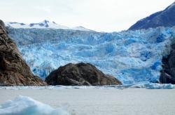 Ledovec na Aljašce, ilustrační foto