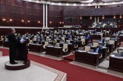Parlament v ázerbájdžánském Baku