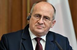 Polský ministr zahraničí Zbigniew Rau