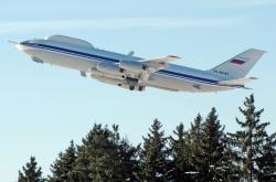 Jeden z ruských letounů Il-80