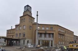 Demolice areálu bývalé brněnské Zbrojovky. Po revitalizaci nahradí prostor architektonický projekt Nové Zbrojovky