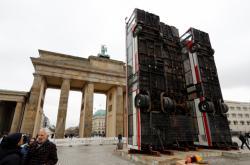 Barikády z Aleppa v Berlíně