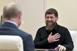 Ramzan Kadyrov u Vladimira Putina