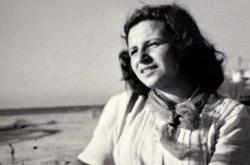 Aviva (Bedřiška Winklerová) poprvé v Izraeli (1949)