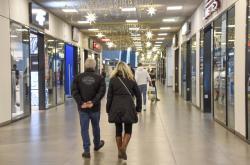 Obchodní centrum Nová Karolina v Ostravě
