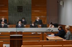 Žalobkyně Petra Tittková před kárným senátem