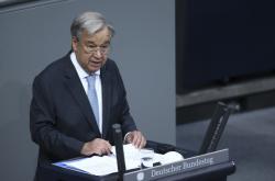 Generální tajemník OSN Antonio Guterres